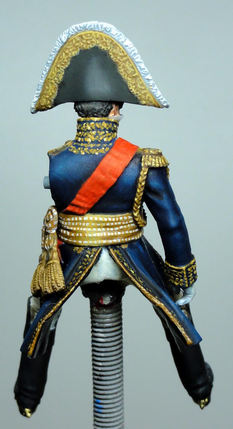 Maréchal Berthier, prince de Neuchâtel de Metal modèles, terminé Dsc05417