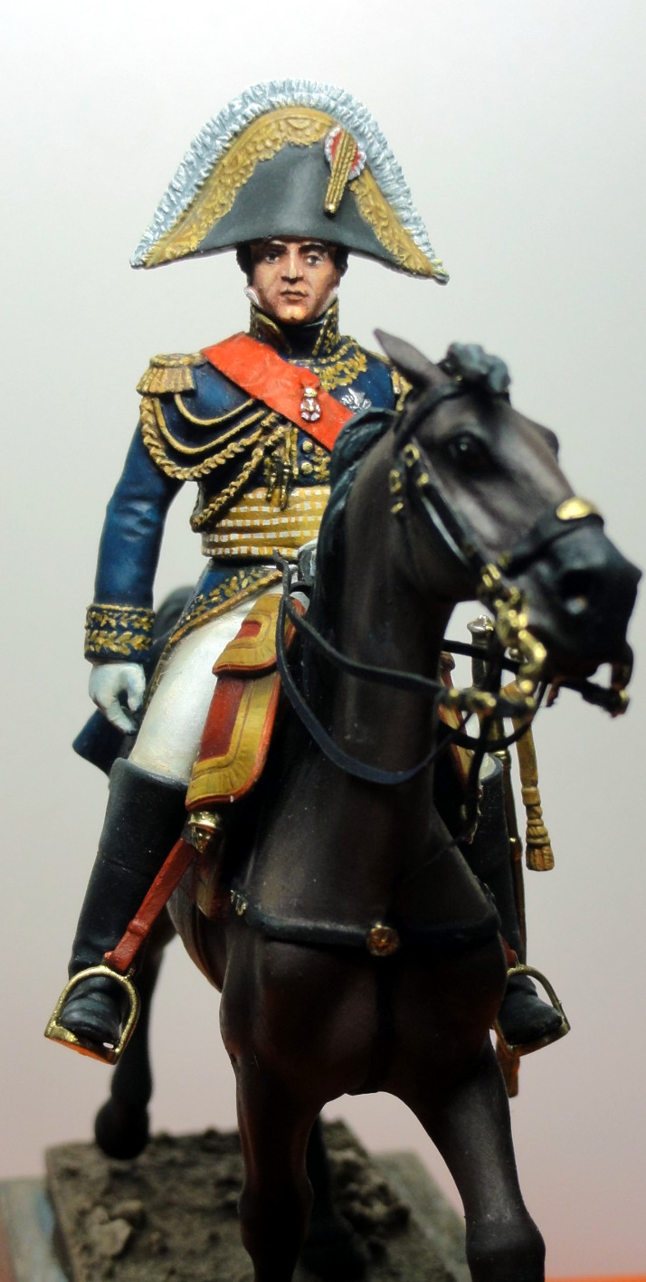 Maréchal Berthier, prince de Neuchâtel de Metal modèles, terminé Dsc05421