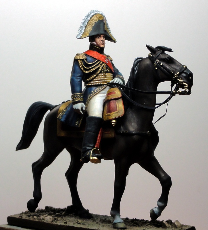 Maréchal Berthier, prince de Neuchâtel de Metal modèles, terminé Dsc05422