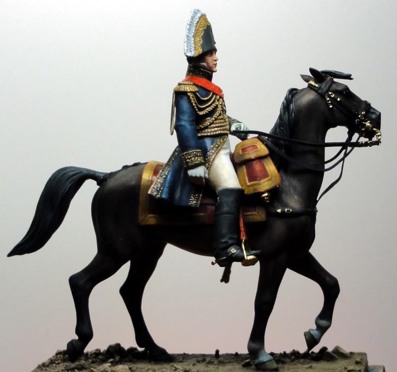 Maréchal Berthier, prince de Neuchâtel de Metal modèles, terminé Dsc05423