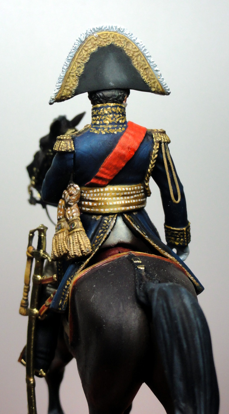 Maréchal Berthier, prince de Neuchâtel de Metal modèles, terminé Dsc05424
