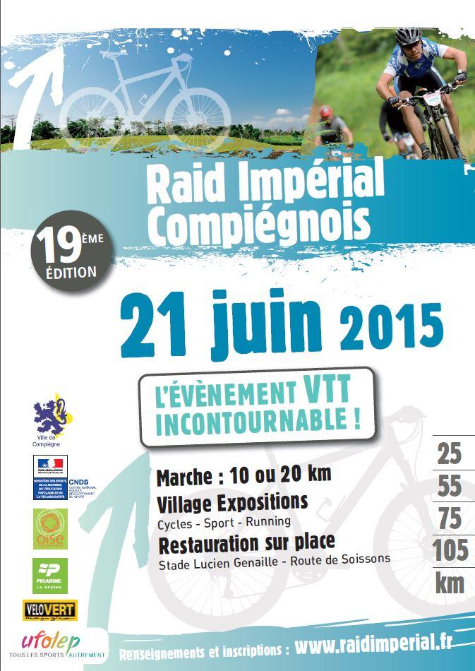[60] Raid Impérial de Compiègne 21 Juin 2015 Affich10