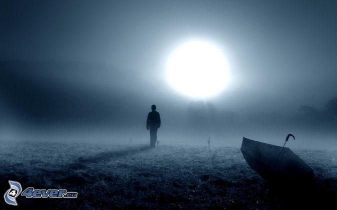 L'homme et le Soleil ... Silhou10