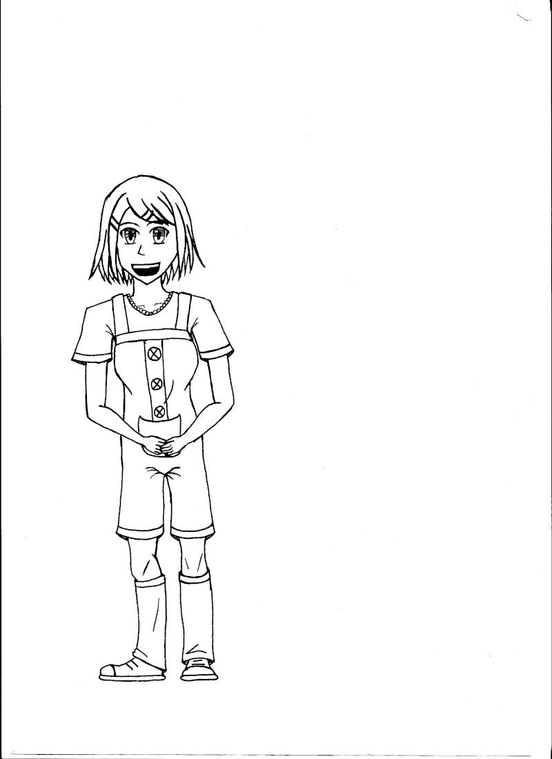 [Art]Dessine ta voisine du dessus. Rin_0210