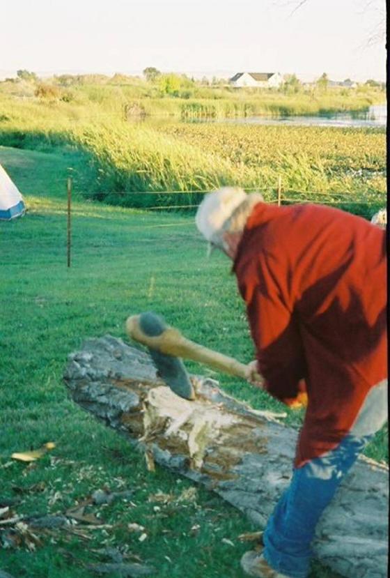 making a ground stone axe. - Page 2 Big_ma11
