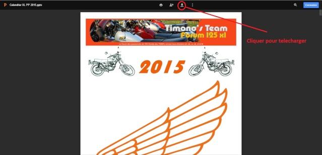 téléchargement du calendrier 2015 Calm10