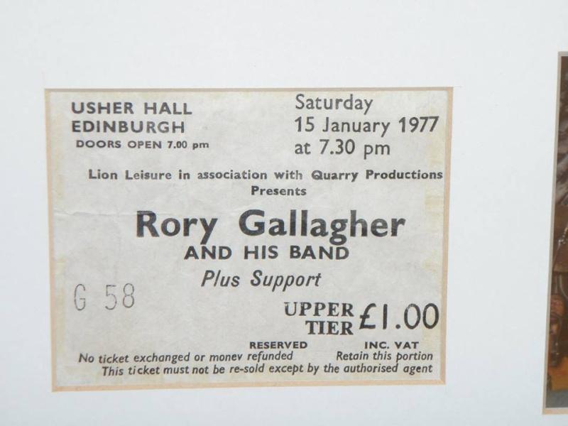 Photos de Bob McGregor - Usher Hall - Edimbourg (UK) - 15 janvier 1977 10891510