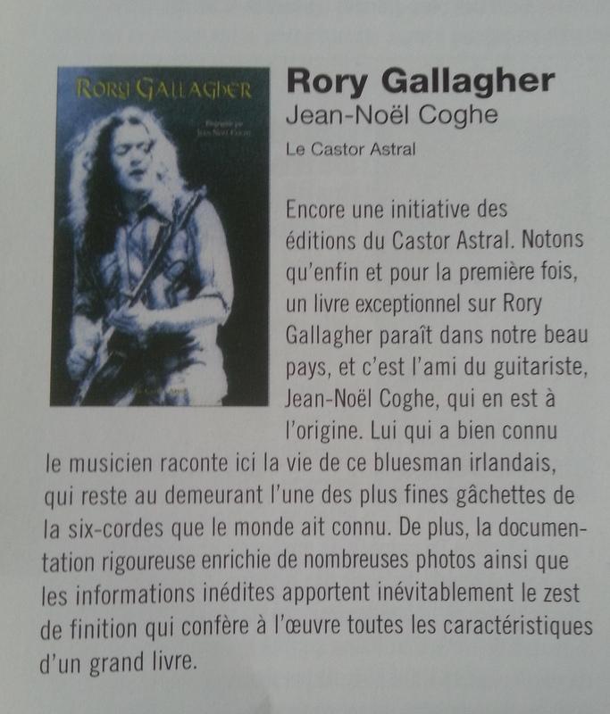 Jean-Noël Coghe - Rory Gallagher  20150111