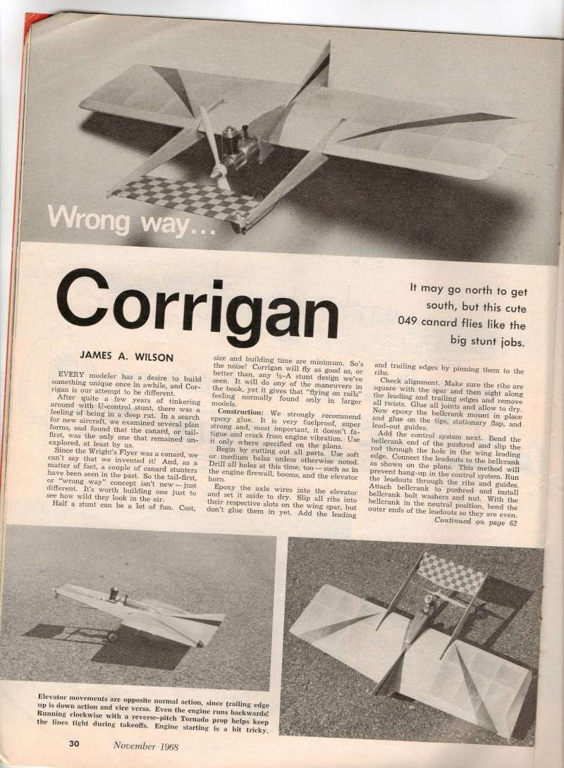 "Old Magazine Morning...""Another Model Airplane Hero"": Don McGovern's 'All Wet' column Flying Models 8/68 - Page 2 Magazi11"