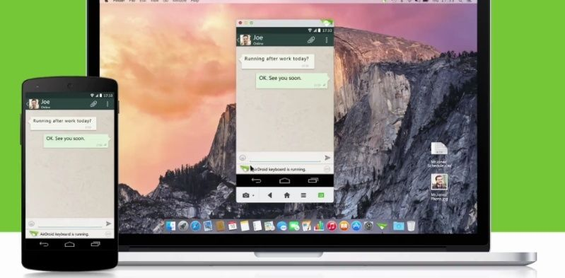 Come avare il tuo Android nel desktop del PC - AirDroid Downlo10
