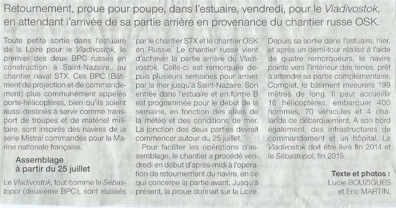 [Vie des ports] Port de Saint Nazaire - Page 2 Mouvem10