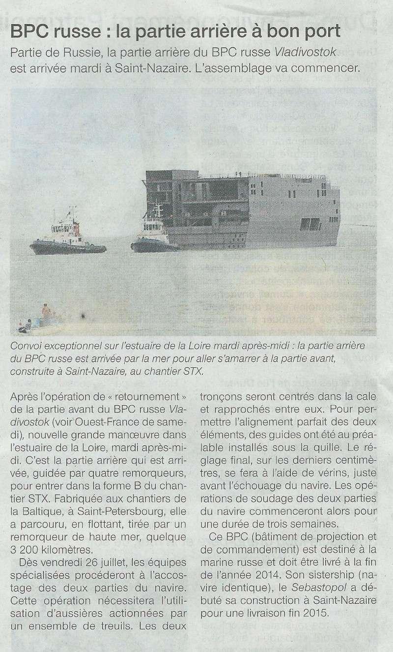 [Vie des ports] Port de Saint Nazaire - Page 2 Mouvem16