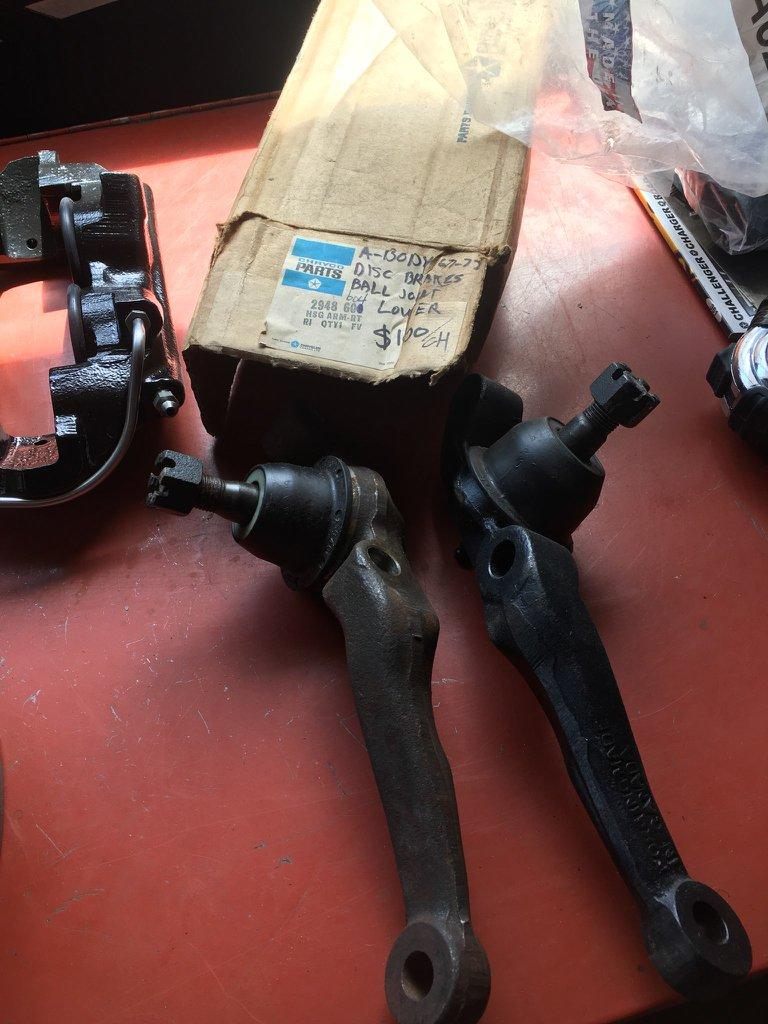 Question Mopar A Body. sur kit conversion drum to disc brake 57876311