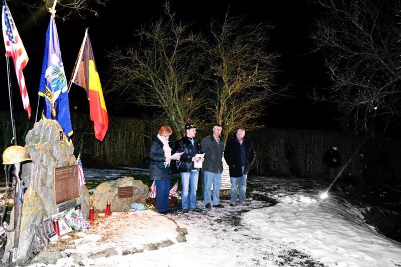 Ceremonie 7 janvier 2015 à Rochelinval 10136110