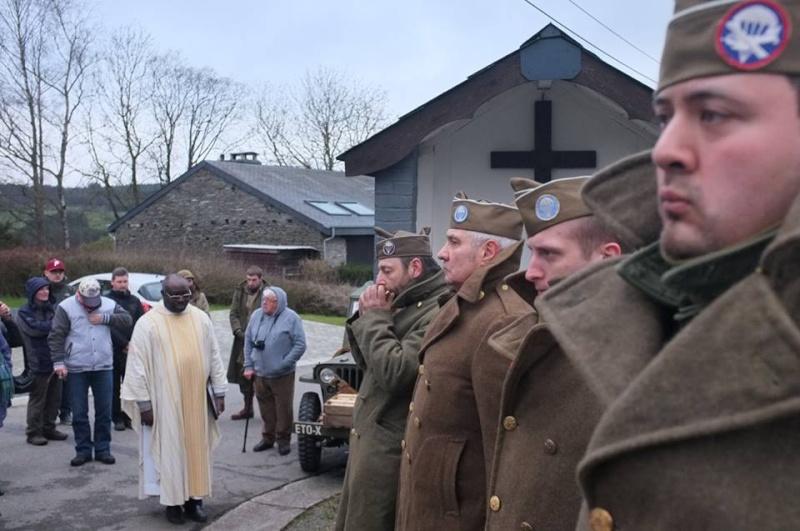 Ceremonie 83rd Inf Division 11 janvier 2015 à Fraiture 10805510
