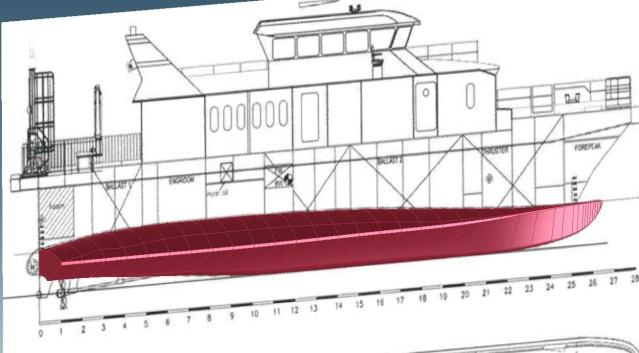 Crew Transfer Schiff GESA  Unbena11