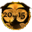 All year badges 2001-2020 201511