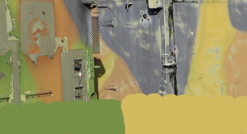 peinture - Camouflage francais 3 tons Otan - Page 2 Jaune10