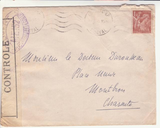 La commission de contrôle d'Aurillac encore en action en janvier 1945 !!  _1003010