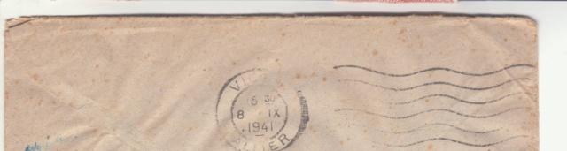 Lettre des Baléares de 1941 avec contenu + papillon du censeur. _1900010
