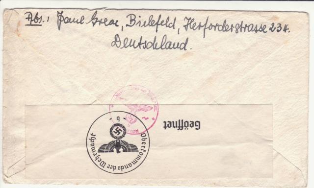 Décret sur les communications de la censure allemande du 02 Avril 1940. (00) _1_aa010