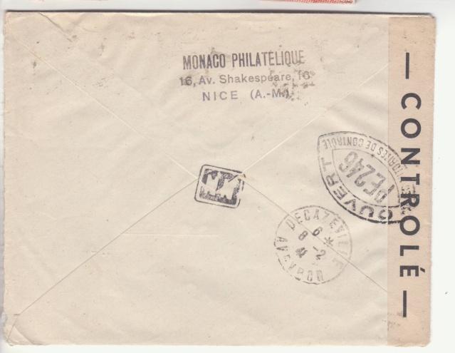 Carte interzone de janvier 1941 avec cachet de censeur de Rodez  _2003210