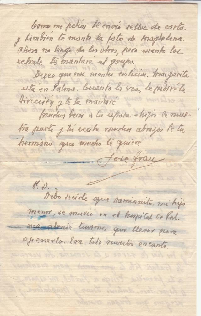 Lettre des Baléares de 1941 avec contenu + papillon du censeur. _2100010