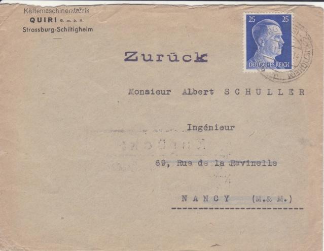 Décret sur les communications de la censure allemande du 02 Avril 1940. (00) _2_04_10