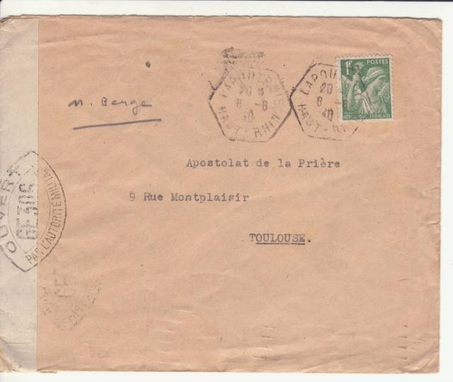 Une des premières lettres contrôlées par la Commission GE de Colmar. _3-f10