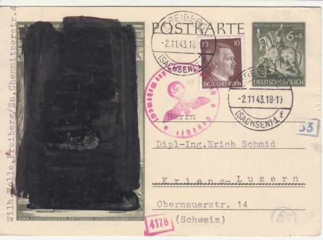 Décret sur les communications de la censure allemande du 02 Avril 1940. (00) _4-02_10