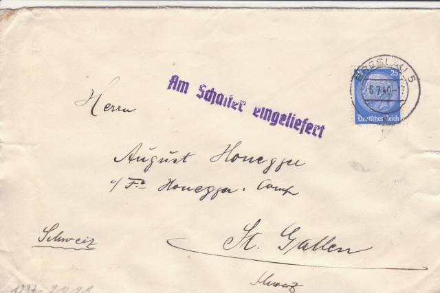 Décret sur les communications de la censure allemande du 02 Avril 1940. (00) _4-06_10