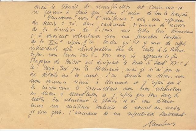 La commission de contrôle d'Aurillac encore en action en janvier 1945 !!  _4002710