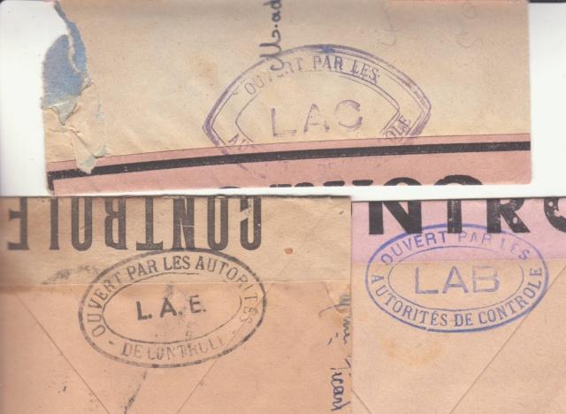"""Lettre en FM d'Albert (Somme) de juin 45 pour Avignon avec censure """"LAB""""- non répertoriée !! _5002210"""