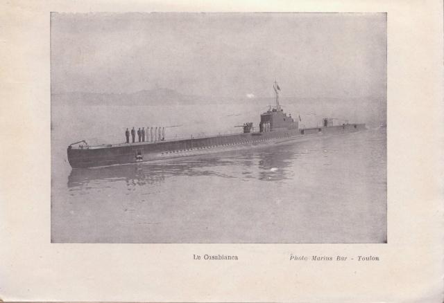 """Lettre censurée MA-E ( Meknes ) du sous-marin """" Casabianca"""" pour les USA _a-a10"""