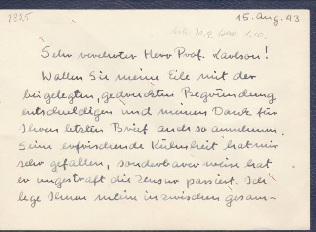 """Les marques des censeurs """"lecteurs"""" des centres de contrôle allemands : b Berlin _b_411"""