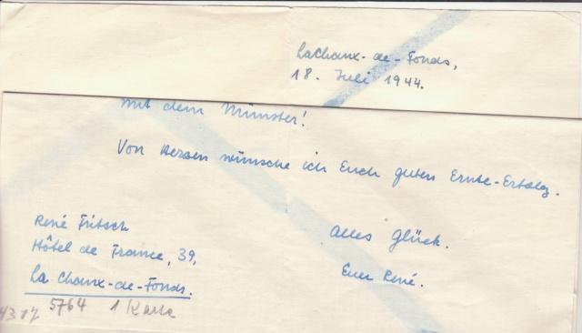 """Les marques des censeurs """"lecteurs"""" des centres de contrôle allemands : d Munich _d_610"""