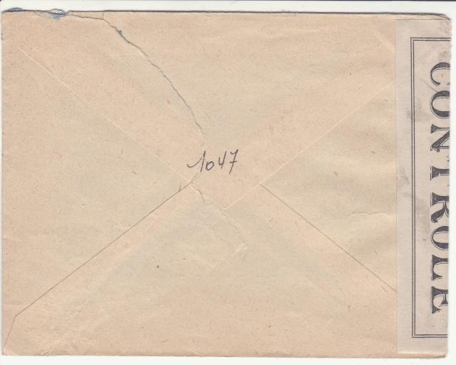 Timbres de la libération de Lille (oblitérations sur lettre). _lille12