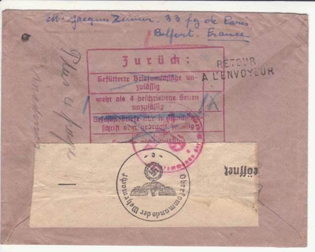 Décret sur les communications de la censure allemande du 02 Avril 1940. (00) _sto-117