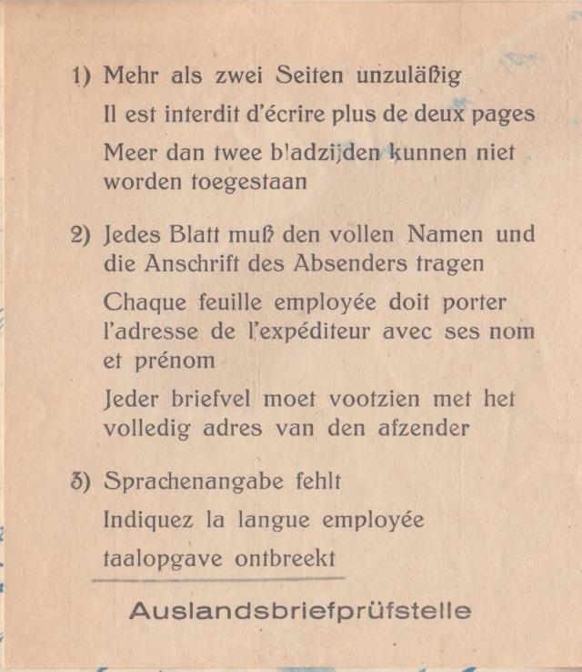 Lettre non conforme au décret de communications:  manque les données de l'expéditeur et l'indication de la langue employé -ABP c - suite 1 (1)  Ab10