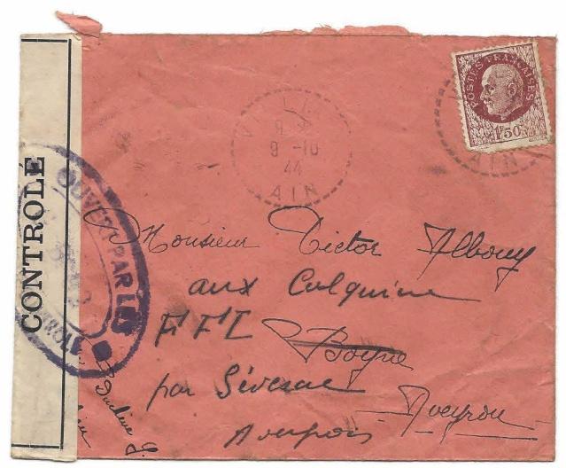 La commission de contrôle de Bourg en Bresse - GB92 encore en action en octobre 1944 !! Gb_92_10