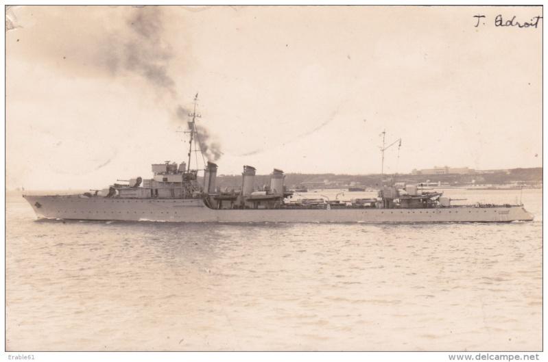 Les torpilleurs français Adroit12