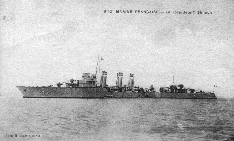 Les torpilleurs français Simoun11