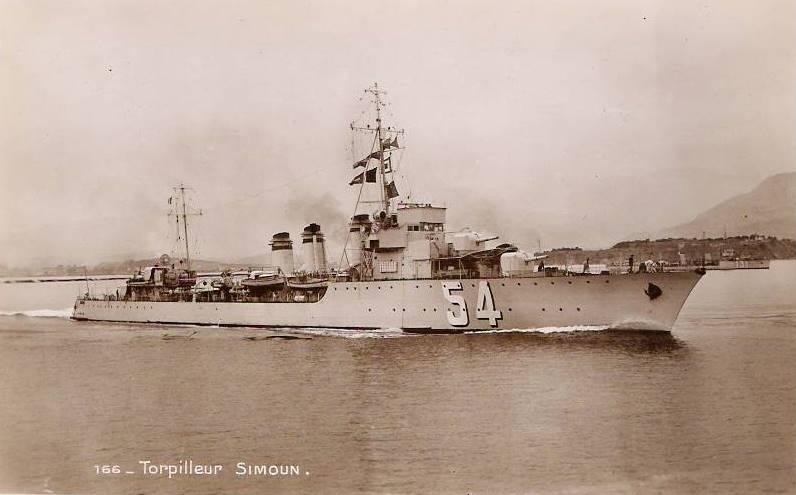 Les torpilleurs français Simoun12