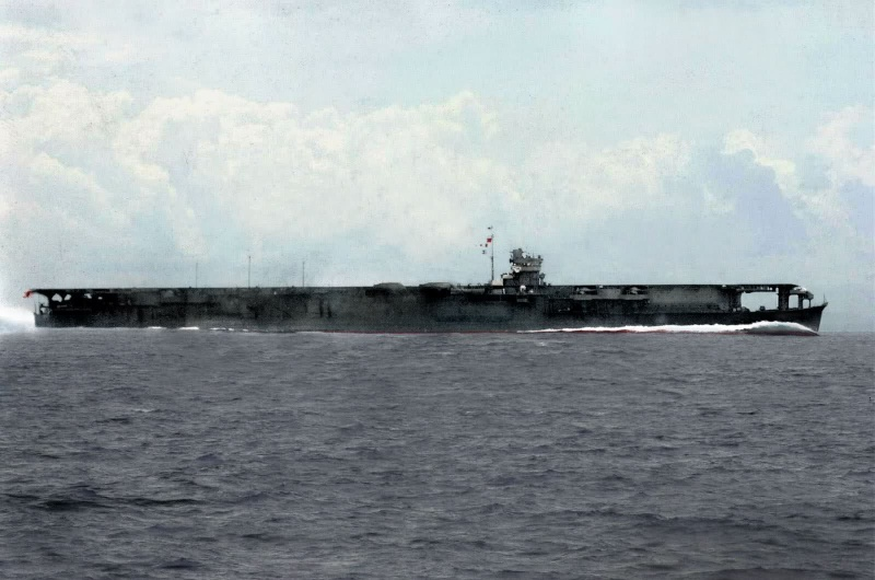 Porte-avions japonais Soryu10