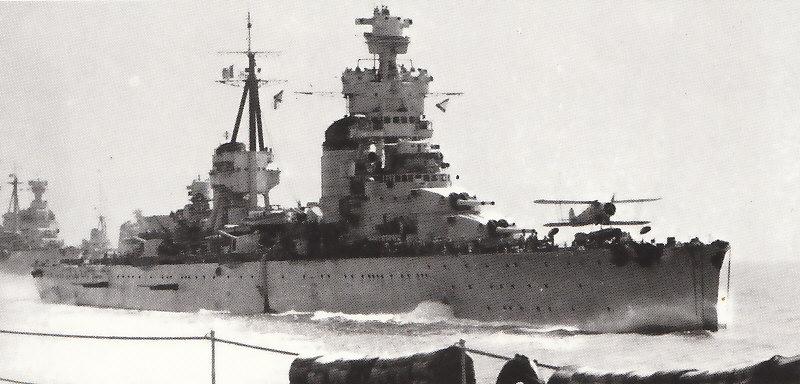 Croiseurs italiens Trento10