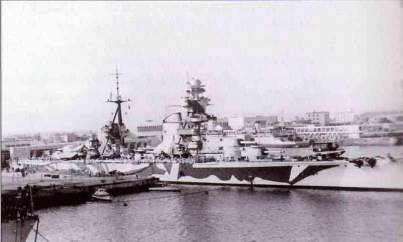 Croiseurs italiens Trento11