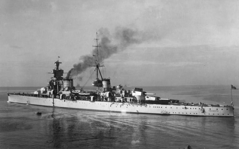 Croiseurs italiens Triest12