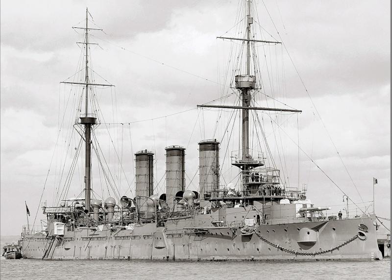 Croiseurs japonais - Page 2 Yakumo10
