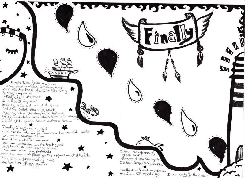 [Dessin] Livret de paroles de Finally Finall12