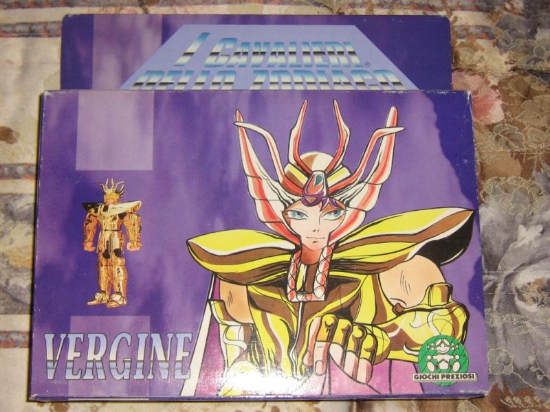 Cavalieri - Vendo CAVALIERI DELLO ZODIACO SCATOLA TEMPIO 1989 Vergin10
